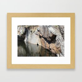 Pine Pit in Pigeon Cove Framed Art Print