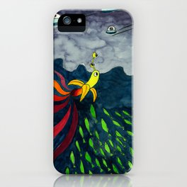 The Aventure of a Banana iPhone Case