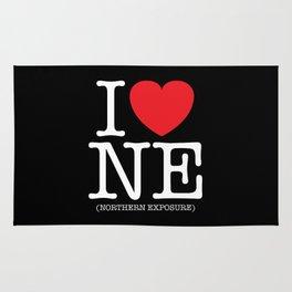 I Heart (Love) Northern Exposure Rug