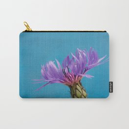 Purple Mountain Cornflower No.2 Carry-All Pouch