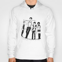 levi Hoodies featuring Squad Levi by PaigeAWArt