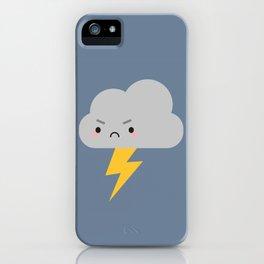 Kawaii Thunder & Lightning Cloud iPhone Case