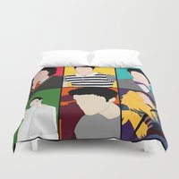 hedwig Duvet Covers featuring From Harry To Hedwig by byebyesally