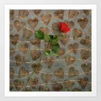Expression of Love Art Print