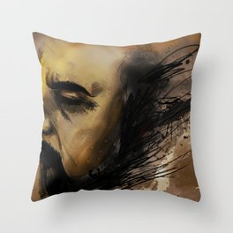 self portrait II Throw Pillow