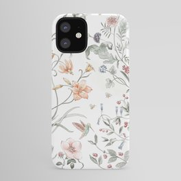 Painted Botanical Garden iPhone Case