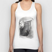 john snow Tank Tops featuring John by RileyStark