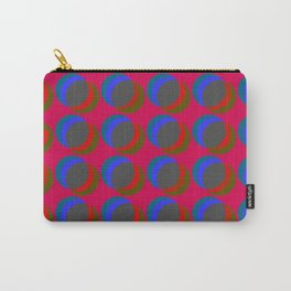 B.L.I.N.K. - optical illusion in red and blue Carry-All Pouch
