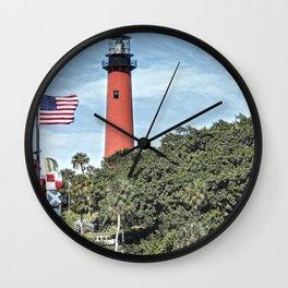 Jupiter Lighthouse Wall Clock