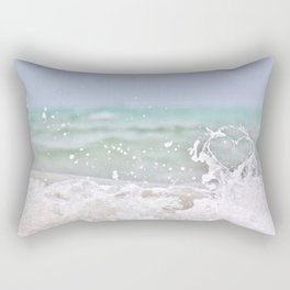 Ocean heart Rectangular Pillow
