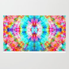 Rainbow Sunburst Rug
