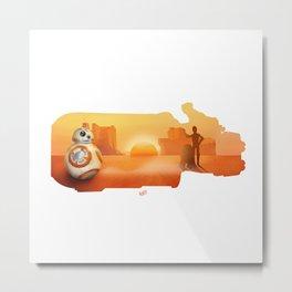 Rey Speedster Metal Print