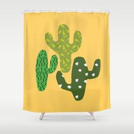Cactus (Minimal) Shower Curtain
