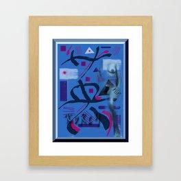 Homage to Balzac n.7 Framed Art Print