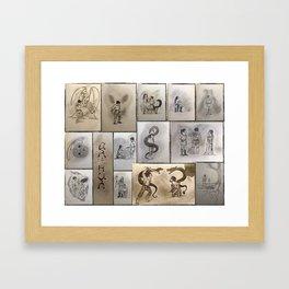 Pendragon: The Legend Framed Art Print