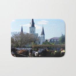 New Orleans Castle Bath Mat