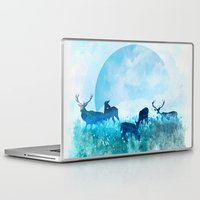 twilight Laptop & iPad Skins featuring Twilight by Lynette Sherrard Illustration and Design