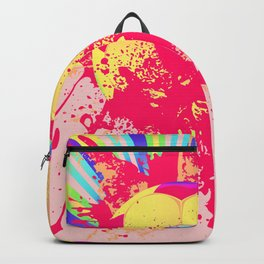 Rainbow rays soccer ball Backpack