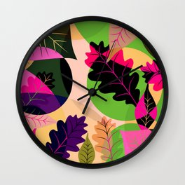 Fleurs 04 Wall Clock
