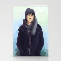 jem Stationery Cards featuring Jem Carstairs by taratjah