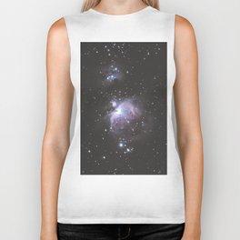 Orion And Running man Nebula's Biker Tank