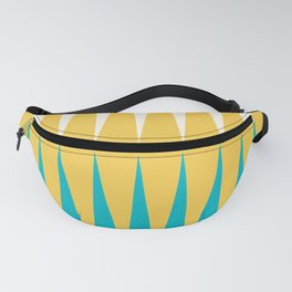 Geometrical retro colors modern print Fanny Pack
