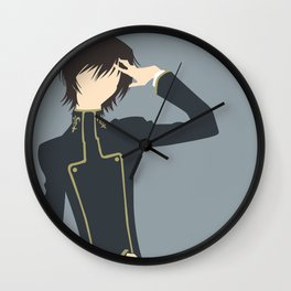 Lelouch Wall Clock