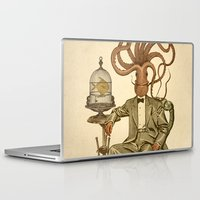 number Laptop & iPad Skins featuring Haircut number 8 by Pepetto
