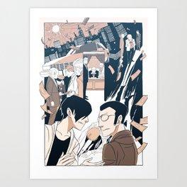 Page Forty-Nine (Print) Art Print
