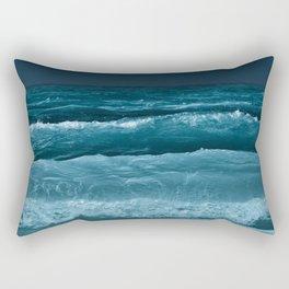 Ocean at Night Rectangular Pillow