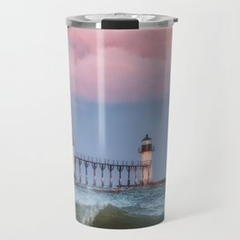 St. Joseph Michigan Lighthouse 01 Travel Mug
