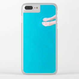 Dip Of Summer Clear iPhone Case