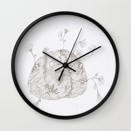 Your Mind is a Garden  Wall Clock