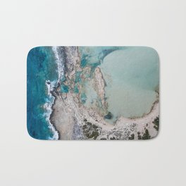 Balos Beach from Above Bath Mat