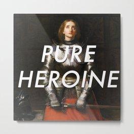 Heroine of Arc Metal Print