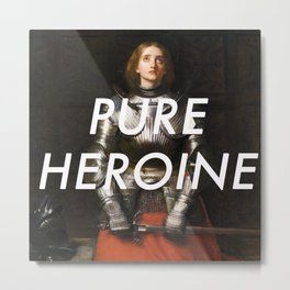 Heroine of Arc Metal Print