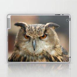 European eagle owl Laptop & iPad Skin