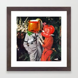 Hot Couple Framed Art Print