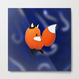 Introducing a fox Metal Print