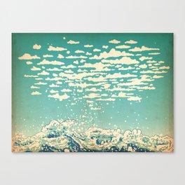 Where The Clouds Are Born Canvas Print