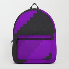 Pixel Grape Juice Dreams - Purple Backpack