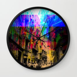 By a simple procedural technique amplified result. Wall Clock
