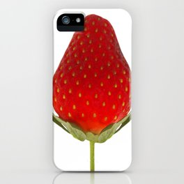 It's Strawberry Time iPhone Case