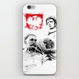 Polish King Jan III Sobieski & Marysienka iPhone Skin