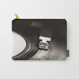 Music From a Vintage 45 RPM Record Playing on a Turntable 1 Carry-All Pouch