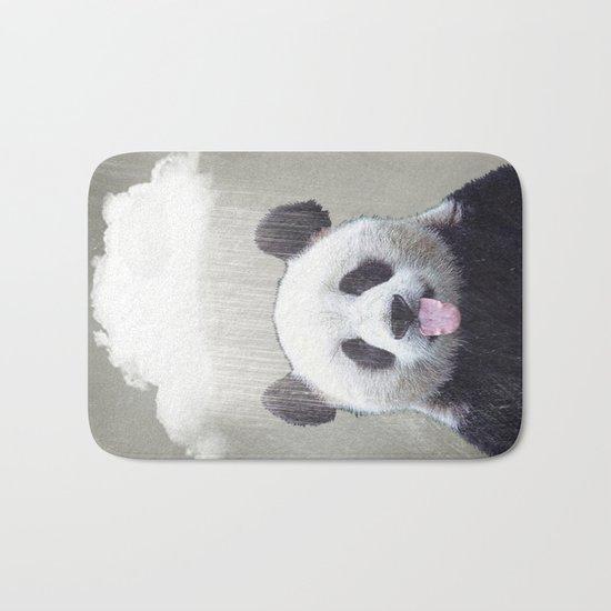 Panda Rain Bath Mat
