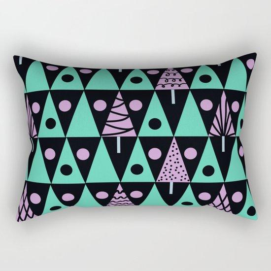 Christmas pattern . Rectangular Pillow