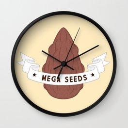 Mega Seeds Wall Clock