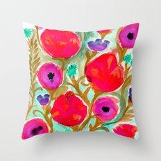 Fiona Flower Throw Pillow