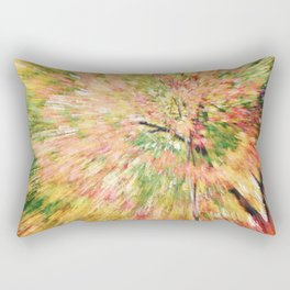 FALL CANOPY ABSTRACT Rectangular Pillow